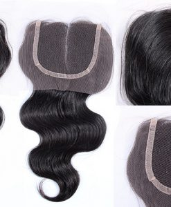 Virgin Hair Lace Closure Body Weave, best hair closures